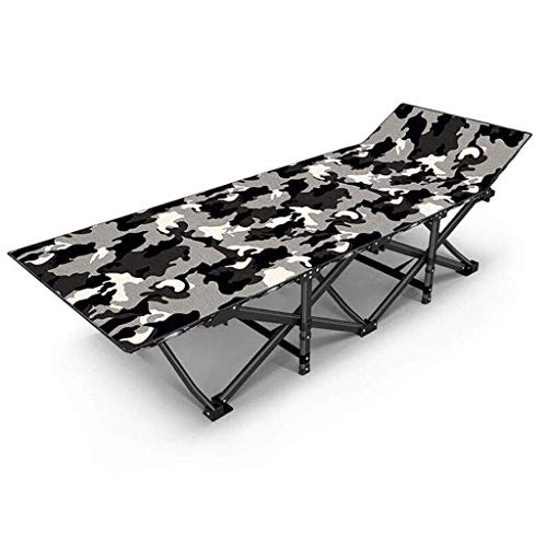 AABBC Sun loungers Deck Chair Folding Sun Lounger Foldable Deck Chair Reclining Garden (Color : A)