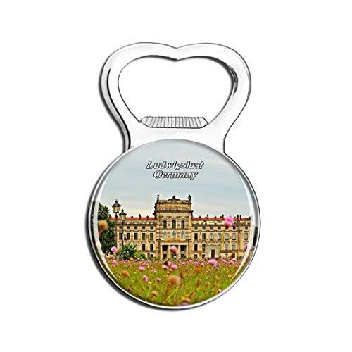Weekino Schloss Ludwigslust Deutschland Bier Flaschenöffner Kühlschrank Magnet Metall Souvenir Reise Gift