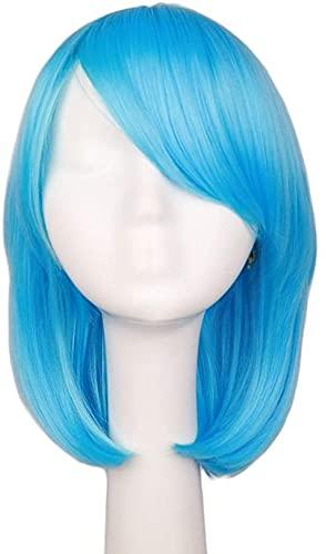 Cosplay?wig?/?anime wig Bao Tianlan short hair?MSN?Korean face repairing wave head long