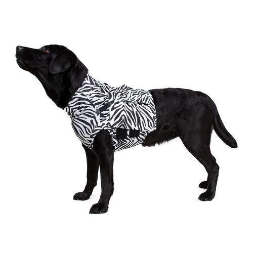 Medical Pet Top Shirt Zebraprint - M