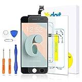 Yodoit Pantalla para iPhone 6 LCD Negro, Ensamblaje de Reemplazo del Digitalizador de la Pantalla táctil de Vidrio con Marco + Kit de Herramientas de reparación (4,7 Pulgadas)