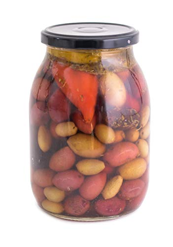 ARISTOS Griechische Oliven mit Stein (Oliven-Mix, 650 GR)