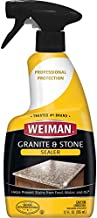 Weiman Granite Sealer and Protector for Granite Marble Onyx Travertine Limestone - Use On Countertops Floors Shower Stalls Fireplaces and Vanities