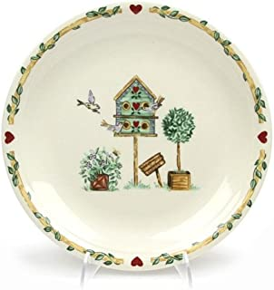 Birdhouse by Thomson, Pottery Dinner Plate