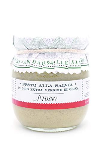 Olio Anfosso Salbei-Pesto in nativem Olivenöl extra, 180 g
