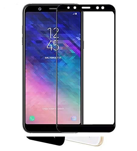 Mica Curva Nano Glas Huawei Y5 2017 / Y5 Pro Mya-l13. Cubre toda la pantalla, borde de color blanco o…