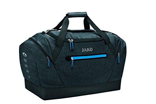JAKO Sporttasche Champ - mit Schuhfach, Größe:02, Farbe:schwarz meliert