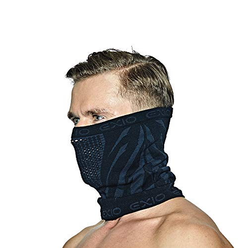 4185nIoo4TL - EXIO Winter Neck Warmer Gaiter/Balaclava (1Pack or 2Pack) - Windproof Face Mask for Ski, Snowboard