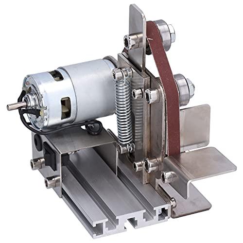 Mini pulidora, pulidora de aleación de aluminio para pulir metal para pulir madera para Pulido para moler acrílico(Normativas europeas)