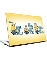 Tamatina HD Minions Skin Laptop Skins for Dell, Lenovo, HP, Acer (15.6-inch, Multicolour)