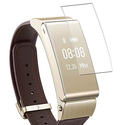 Vaxson Protector de Pantalla, compatible con Huawei TalkBand B2 Smart Watch, 3 Unidades TPU Film Screen Protector [ No Vidrio Templado ]