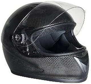 HCI Carbon Fiber Full Face Motorcycle Helmet Medium