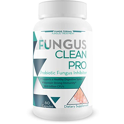 Fungus Clean Pro - Probiotic Fungus Inhibitor - Fight off fungus from the inside out with this powerful anti-fungal probiotic blend - By Fungis Toenail Fungus Treatment - Protect your body from fungus