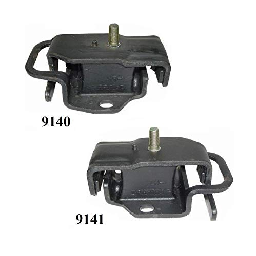 8USAUTO 2PCS Front Left & Right Motor Mount FIT 1991-1994 Isuzu Pickup 3.1L