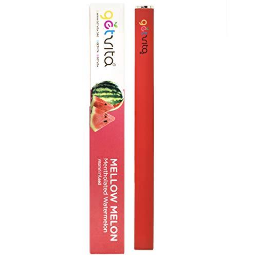 GetVita (mellow melon) - amerikas bio-multivitamin-diffusor inhaler vaporizer w/multivitamine - mentholated watermelon flavor