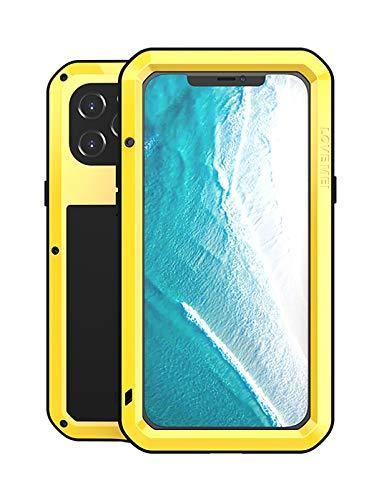 FONREST Completo Funda para iPhone 12 Pro MAX 6,7-Pulgada, Love Mei Antichoque...