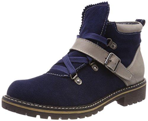 HIRSCHKOGEL Damen 3000500 Stiefel, Blau (Navy), 40 EU