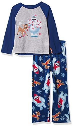 Rudolph unisex child Rudolph Family Sleep Pajama Set, Fam_rudolph Unique, X-Small US
