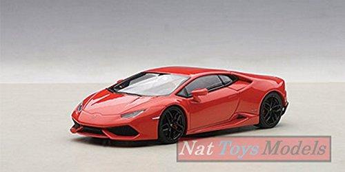 AUTOart AA54604 Lamborghini Huracan LP610-4 2014 Rosso 1:43 MODELLINO Die Cast Compatible con