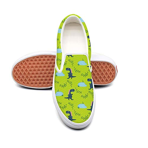 Funny Dinosaur Pool Playing white Ladies Sneakers for Women customize Lightweight Best Running Shoes