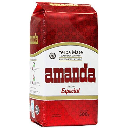 Amanda Yerba Mate Selección Especial - 500g, Té Mate de Argentina
