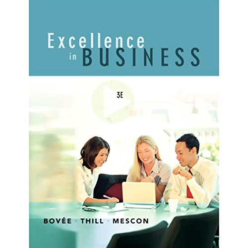 VangoNotes for Excellence in Business, 3/e cover art