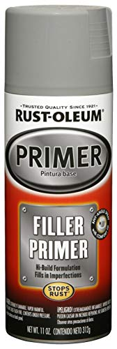 Rust-Oleum, Gray, GrayRust-Oleum 249279 Automotive Filler Primer Spray Paint, 11 oz, 11-Ounce