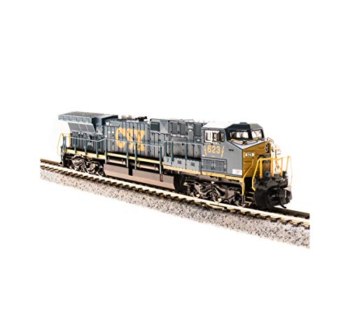 Broadway Limited Imports BLI3747 N Scale GE AC6000CW with Paragon3 Sound44; CSX Model Train - No.5011