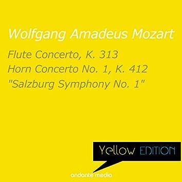 "Yellow Edition - Mozart: Flute Concerto, K. 313  & ""Salzburg Symphony No. 1"""