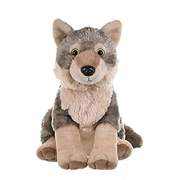 Wild Republic Wolf Plush Stuffed Animal Plush Toy Gifts for Kids Cuddlekins 12 Inches