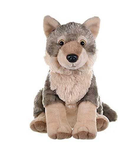 Wild Republic Wolf Plush, Stuffed Animal, Plush Toy, Gifts for Kids, Cuddlekins 12 Inches