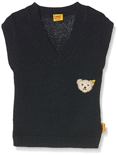 Steiff Collection Jungen Pullover Pullunder, Gr. 62, Blau (Marine 3032)