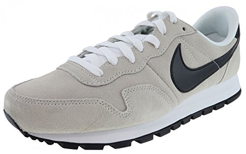 Nike Herren Air Pegasus 83 Ltr Laufschuhe, Beige (White/Black/Summit White/Safety Orange 100), 39.5 EU