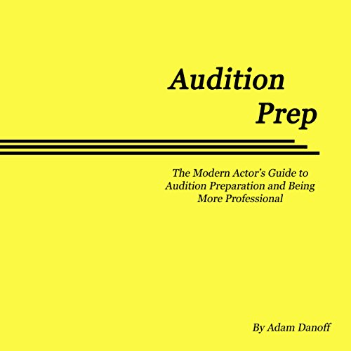 Audition Prep audiobook cover art