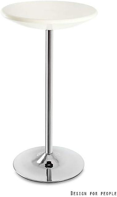 H 1110 mm Beige Bistrotische Alena Certeo Durchmesser 600 mm