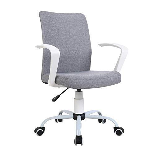 Gooxiaomei Bureaustoel, 360 graden draaibaar, 8 cm, rise en drop-bureaustoel, vergaderings-ontvangst-plaats stoel, bureaustoel, ergonomische draaistoel