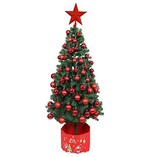 PPTS 1.5m 1.8m 2.1m árbol de Navidad embalaje encriptación lujo iluminación árbol de Navidad conjunto