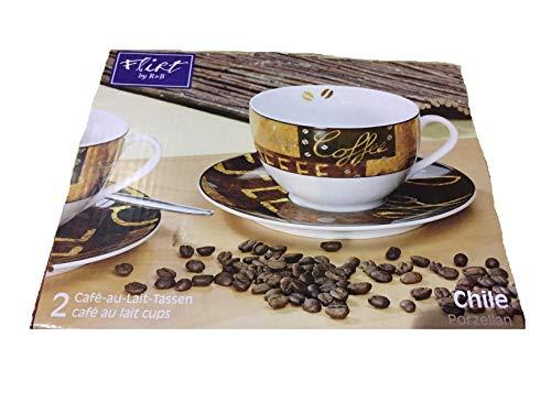 Ritzenhoff & Breker Frühstücksset Frieda  2er Set Jumbo-Kaffeebecher