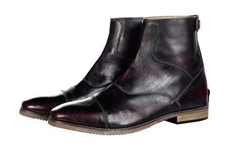 HKM Erwachsene Stiefelette - Scotland- echtes Leder3100 weinrot38 Hose, 3100 weinrot, 38