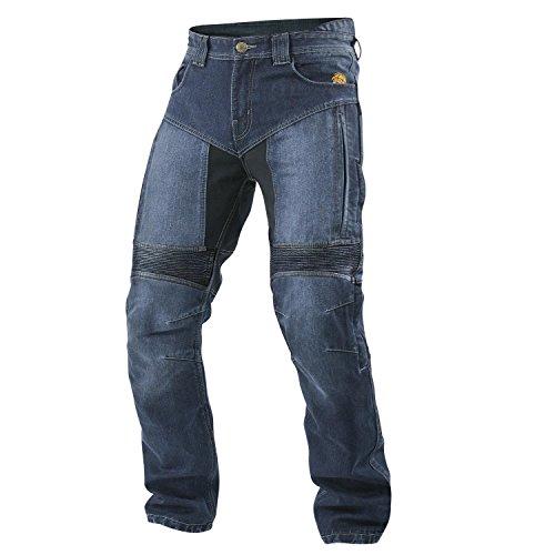 Trilobite AGNOX señores moto pantalones vaqueros estanco - azul