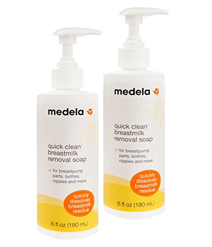 Buy Bargain Medela Quick Clean Breast Milk Removal Soap, 6 Ounce. Pack Of 2  Removes Stains Up To 3 ...