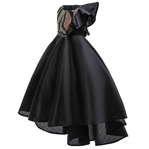K-Youth Vestido de Novia Chica Tutú Vestido Princesa Niña Vestido de Dama...