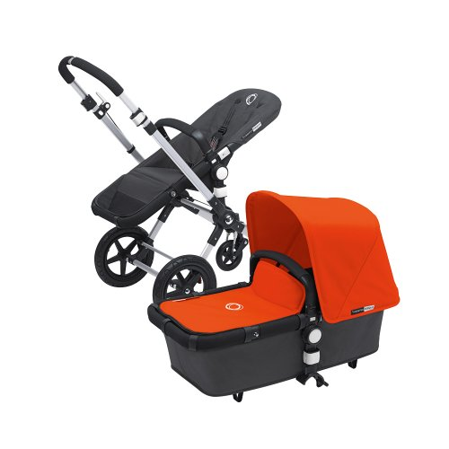 Buy Bargain Bugaboo Cameleon 3 with Dark Grey Base and Multiple Color Options (Orange)