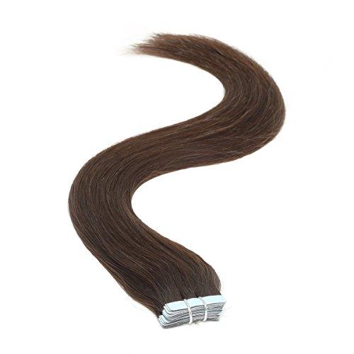 Ruban adhésif en Extensions de cheveux | 45,7 cm | 50PS | 50 g | Barely Noir (1B)
