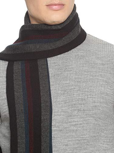 513 Men Acrylic Woolen Casual Winter Wear Verticle Striped Knitted Warm Premium Mufflers Multicolor 4 4185vty49CL. SL500