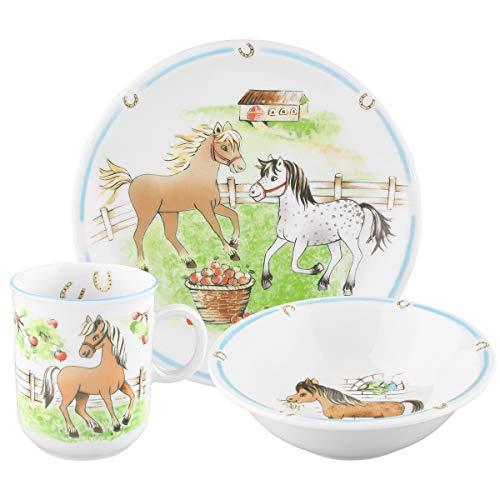 Seltmann Weiden Compact Mein Pony 001716566 Kindergeschirr, Porzellan, Mehrfarbig, 21 x 19 x 20 cm