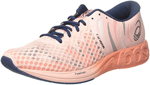 ASICS Women's Running Training Shoes, Pink (Seashell Pink/Dark Blue/Begonia 1749), US 8.5