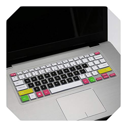 for New For Dell XPS 15 7590 / XPS 15 9570 9575 9560 9550 15.6' Silicone laptop keyboard cover skin Protector-candyblack-