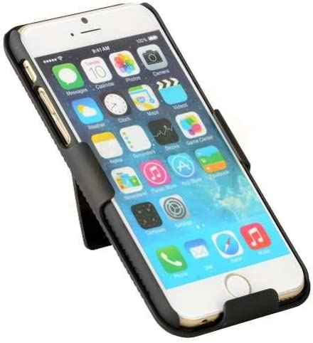 Encust Shell Holster Combo Case for Apple iPhone 7+(Plus) with Kick-Stand & Belt Clip Holster Includes 1-Year Warranty (At&t, Verizon, T-Mobile & Sprint)