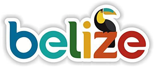 Tiukiu Belize Vinyl Sticker for Laptop Book Fridge Guitar Motorcycle Helmet Toolbox Door Luggage Cases